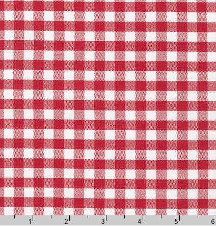 Journey in red gingham