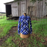 Gold Miner's Daughter in River Plaid