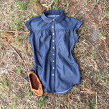 Gold Miner's Granddaughter Chambray/denim