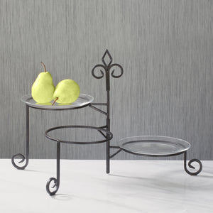 Buffet Swivel Plate Stand