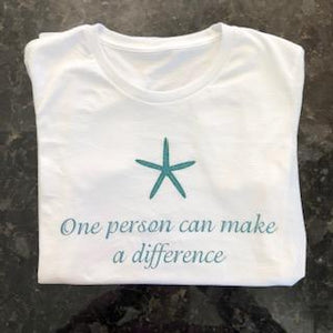 Short Sleeve tee shirt - One person can make a difference