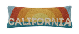 California Rainbow Hook Pillow