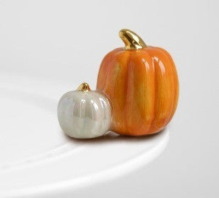 Nora Fleming Double Pumpkin Mini