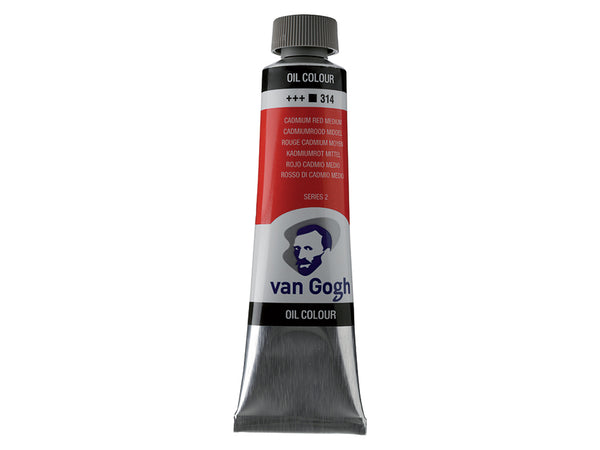 Van Gogh Olje 40ml – 314 Cadmium red medium