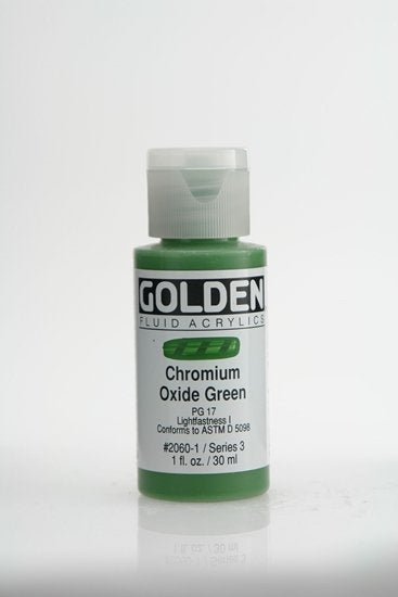 Golden Fluid Chromium Oxide Green 30 ml