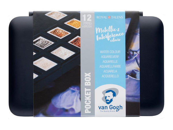 Van Gogh Akvarell – Pocketbox Metallic/Interferense