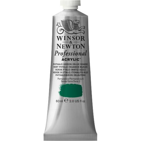 Professional Acrylic, 522 Phthalo Green (Blue Shade), 60 ml