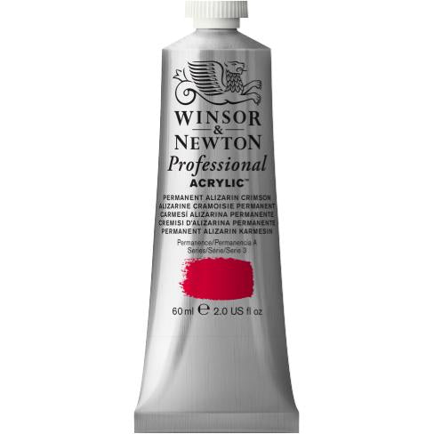 Professional Acrylic, Permanent Alizarin Crimson, 60 ml