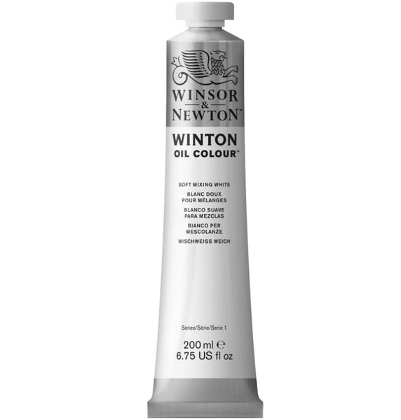 Winton oljemaling, Soft Mixing White, 200 ml