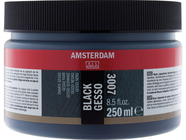Amsterdam Gesso Black 3007 – 250ml