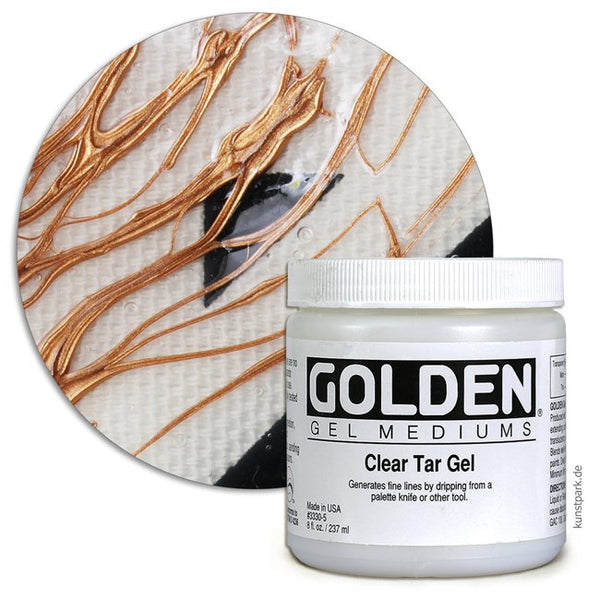 Golden Medium Gel, Clear tar gel 33305,  237ml