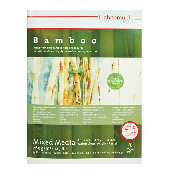 Bamboo Mixed Media blokk