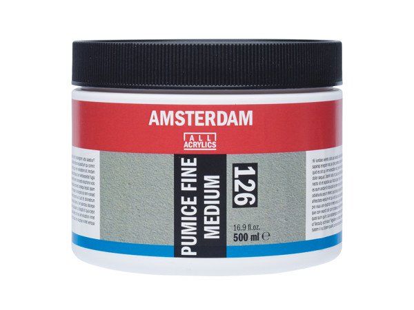 Amsterdam Pumice Fine Medium 126 – 500ml