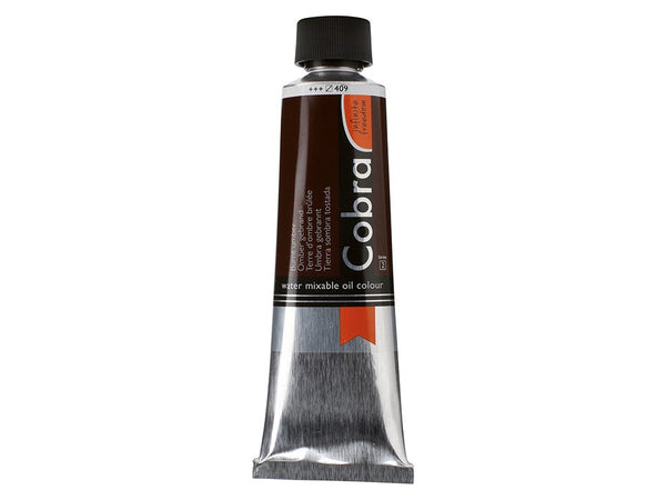 Cobra Artist 150ml –409 Burnt umber
