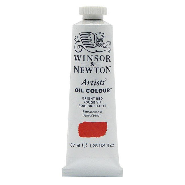Artist Oil, Bright Red, 37 ml