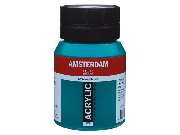 675 Amsterdam Standard - Phthalo green 500 ml