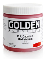 Golden Heavy Body 473 ml 11006 C.P. Cadmium Red Medium S9