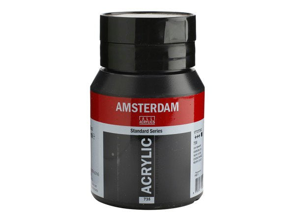 702 Amsterdam Standard - Lamp black 500 ml