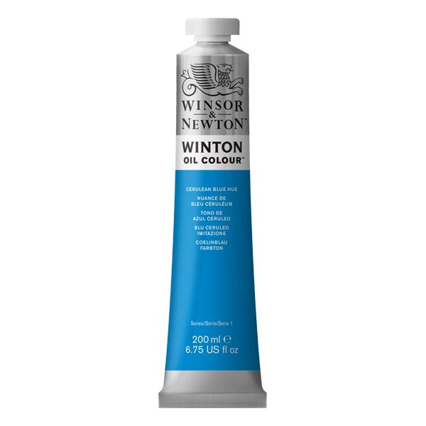 Winton oljemaling, Cerulean Blue Hue, 200 ml