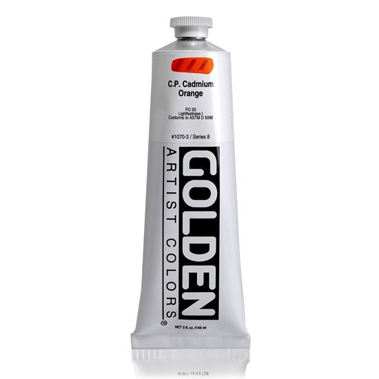 Golden HB 148ml 10703 C.P. Cadmium Orange S8