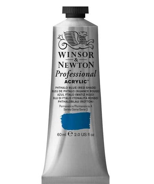 Professional Acrylic, Phthalo Blue(RedShade), 60 ml