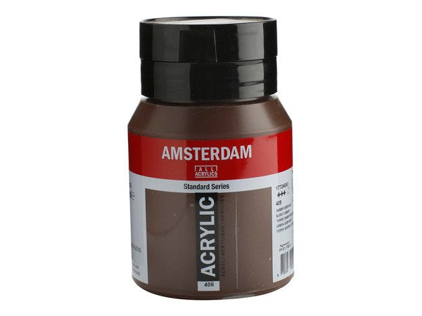 409 Amsterdam Standard -  Burnt umber 500 ml