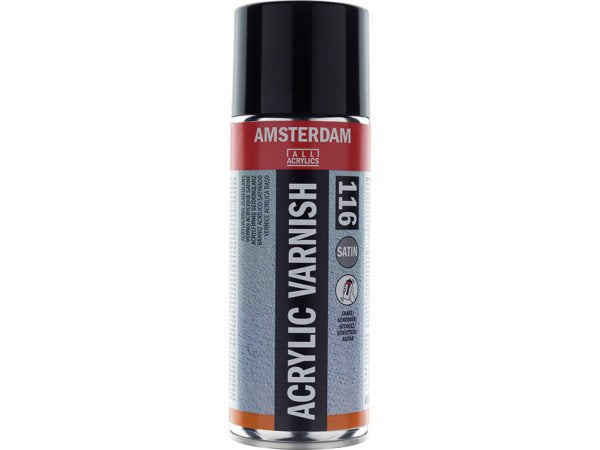 Amsterdam Acrylic Varnish Satin 116 – 400ml Spray