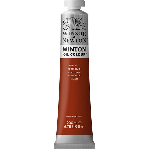 Winton oljemaling, 362 Light Red, 200 ml