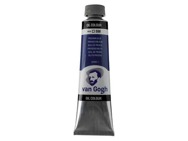 Van Gogh Olje 40ml – 508 Prussian blue
