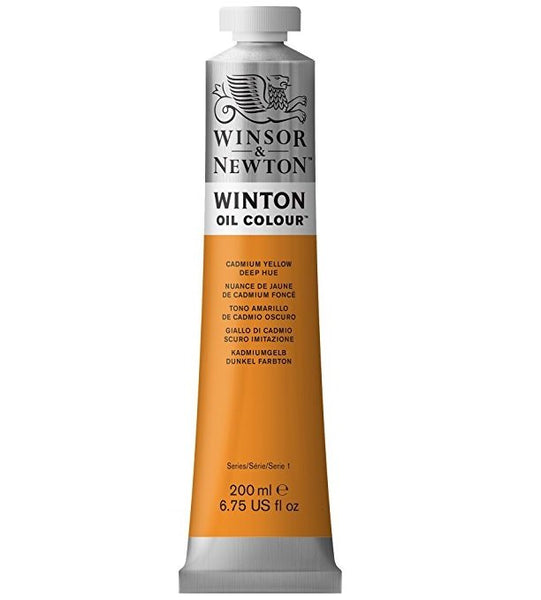 Winton oljemaling, Cadmium Yellow Deep Hue, 200 ml