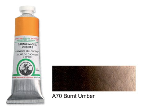 Old Holland A70 Burnt Umber 125 ml