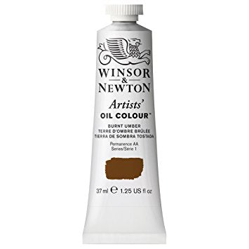 Artist Oil, Burnt Umber 076,  37 ml
