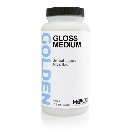 Golden Gloss Medium Polymer 473ml 35106