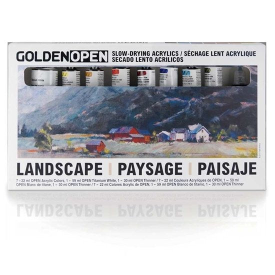 Golden Open Landscape set
