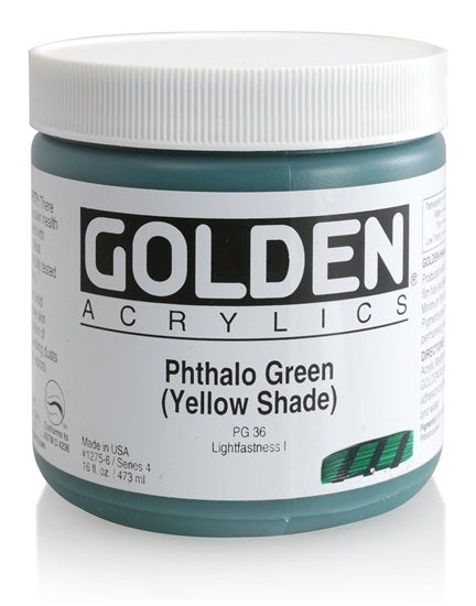 Golden Heavy Body 473 ml 12756 Phthalo Green Yellow shade s4