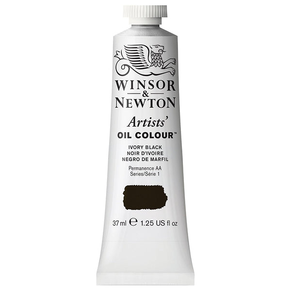 Artist Oil, Ivory Black, 37 ml