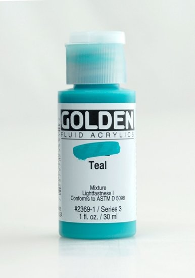 Golden Fluid 23691 Teal  30 ml