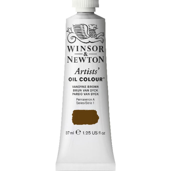 Artist Oil, Vandyke Brown, 37 ml