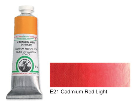 E21 Cadmium Red Light 40 ml