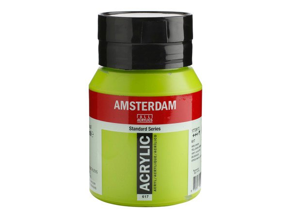 617 Amsterdam Standard - Yellowish green 500 ml