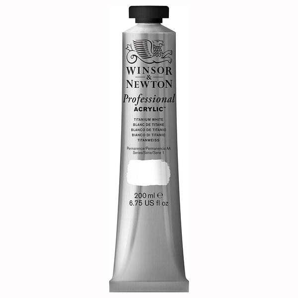 Professional Acrylic, Titanium white, 200 ml