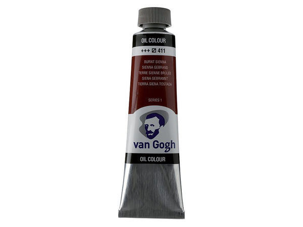 Van Gogh Olje 40ml – 411 Burnt sienna