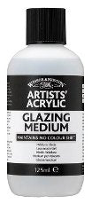 Professional Acrylic Glazing Medium 125 ml