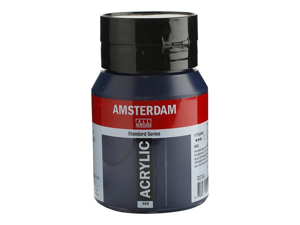 566 Amsterdam Standard - 566 Prussian Blue Phthalo 500 ml