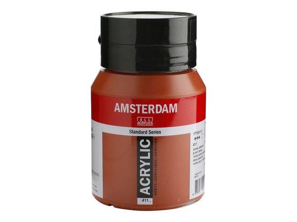 411 Amsterdam Standard -   Burnt sienna 500 ml