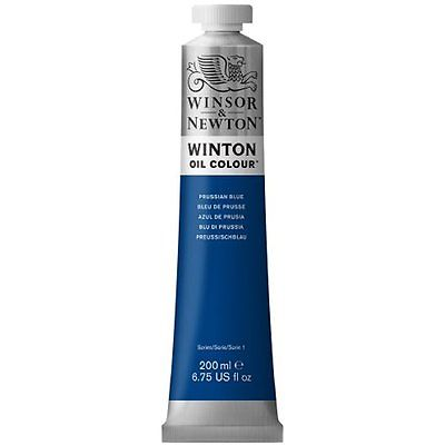 Winton oljemaling, Prussian Blue, 200 ml