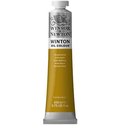 Winton oljemaling, Yellow Ochre 744, 200 ml