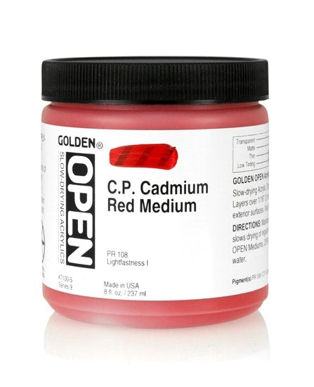 Golden Open 71005 C.P. Cadmium Red Medium S9