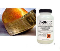 Golden Polymer Satin Ferniss 237ml