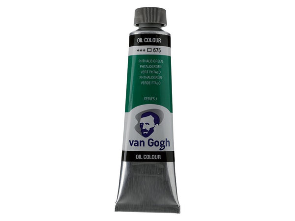 Van Gogh Olje 40ml – 675 Phthalo green